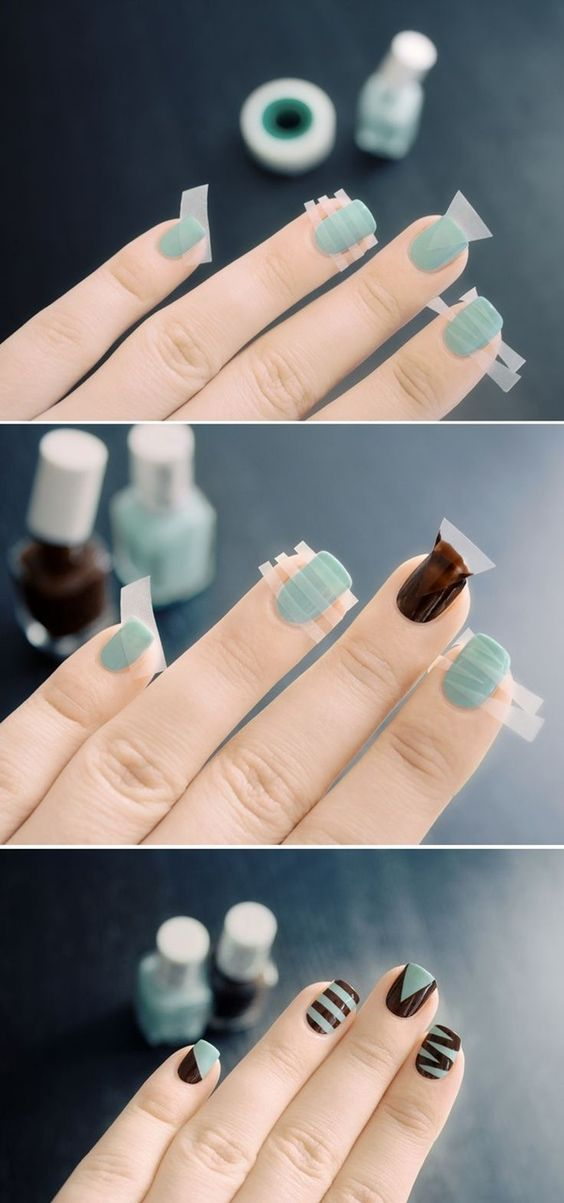 decorative nail art ides
