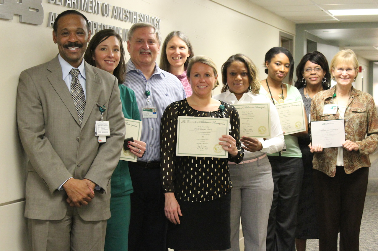 Faculty and Staff Service Awards | The Scope - UAB