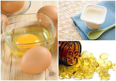 Trị tàn nhang bằng trứng gà kết hợp với vitamin E