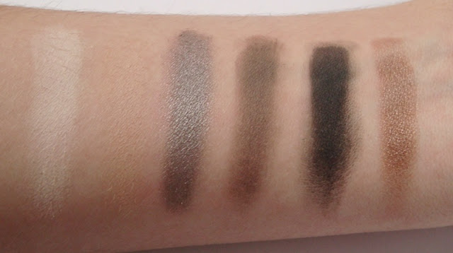swatches makeup revolution