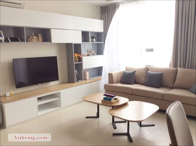Masteri Thao Dien apartment for rent simple furniture