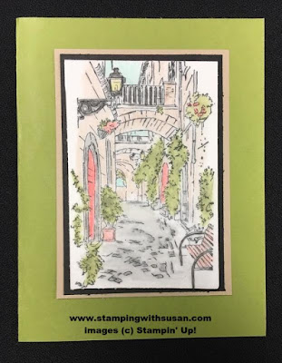 Stampin' Up! Artistically Asian Vellum Cardstock Watercolor Pencils