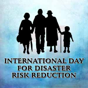 International Day for Disaster Reduction - 13th October