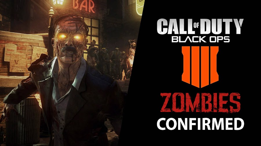 call of duty black ops 4 zombie mode confirmed