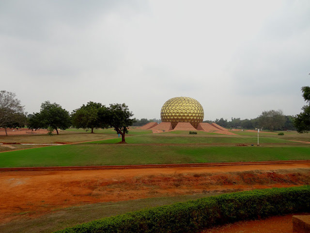 MathruMandir Meditation Glob at Auro Ville Global Village - Pondicherry Pick, Pack, Go