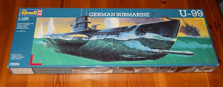 German Submarine U-99 Revell scale 1:125