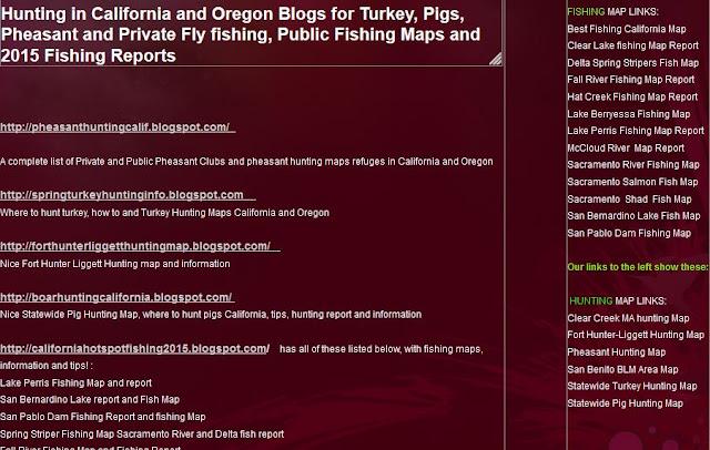 hunting fishing clubs california oregon, hunting fishing maps and reports oregon and california