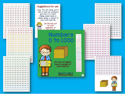 Five Ways to Practice Counting by Fives: Here are several ideas to help students practice skip counting, including a few freebies!