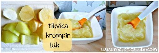 TIkvica, krompir i luk za bebe