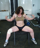 Female bodybuilding muscular But it caught my attention