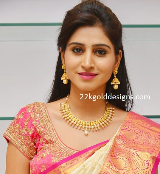 Shamili in One Gram Gold Jewellery