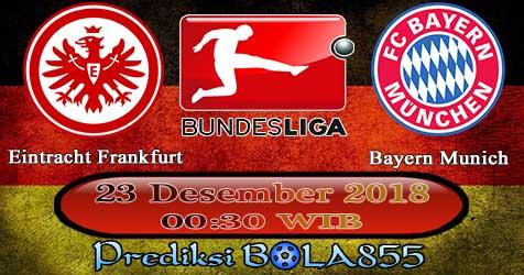 Prediksi Bola855 Eintracht Frankfurt vs Bayern Munich 23 Desember 2018
