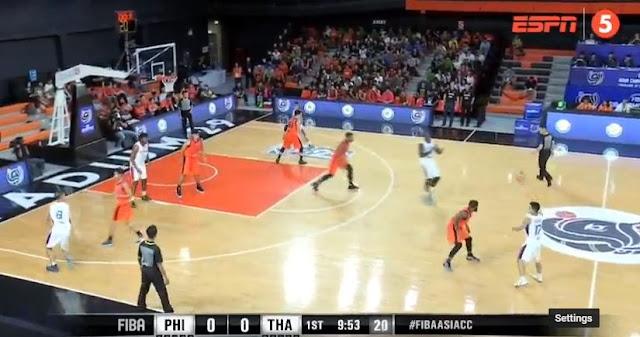 Live Streaming List: Meralco Bolts (Philippines) vs Mono Vampire (Thailand) 2018 FIBA Asia Champions Cup
