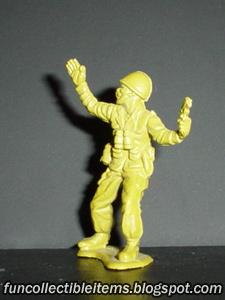 Pistoller plastic toy soldier