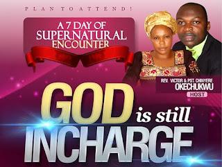 God is incharge