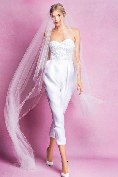 Strapless and Off Shoulder – Sexy Bridal Jumpsuits Image 7