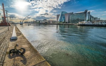 Wallpaper: Grand Canal dock & The Custom House