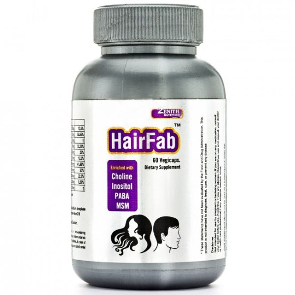 Zenith Nutrition Hair Fab Review