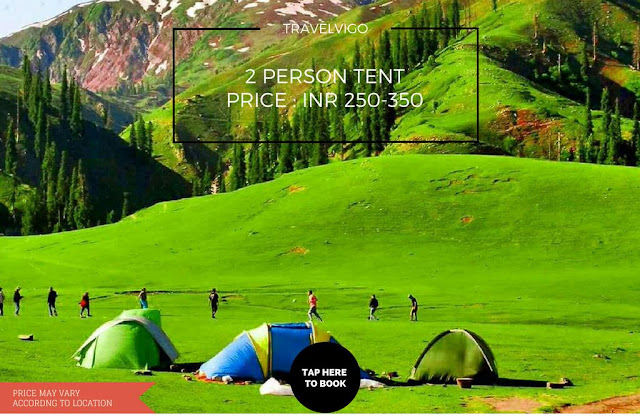 2 Person tent for rent in Shimla