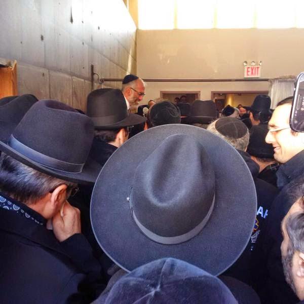 Lakewood Live Hookup of Levaya of Rav Shmuel Yaakov Borenstein zt l
