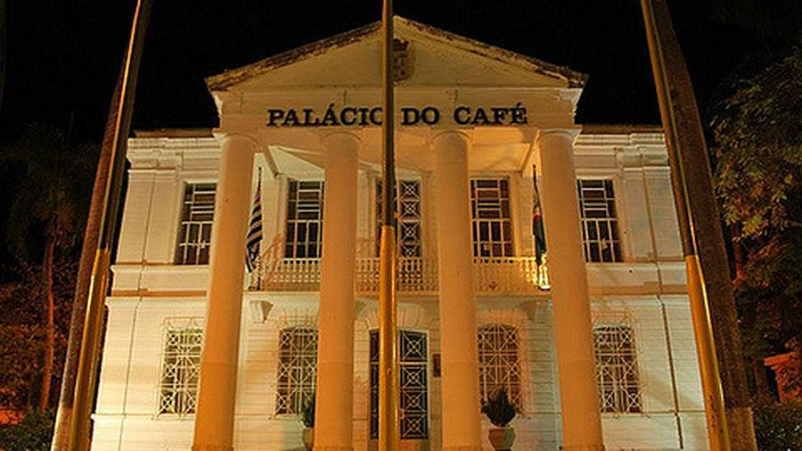 Foto do Palácio do Café em Espírito Santo do Pinhal
