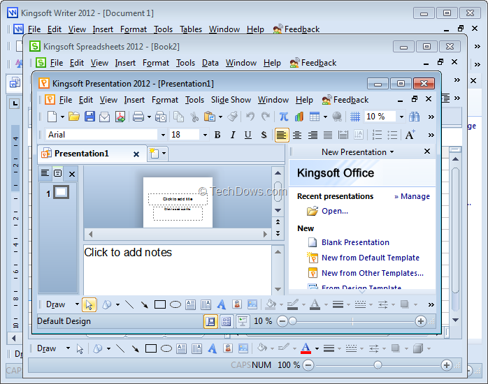 best collections  kingsoft office suite 2012 free download