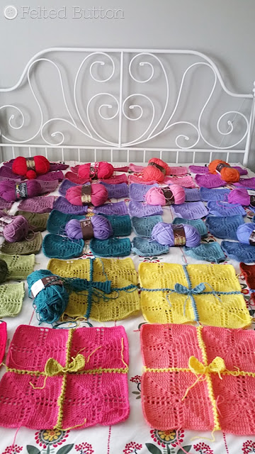 Gifted Blanket Crochet Pattern by Felted Button