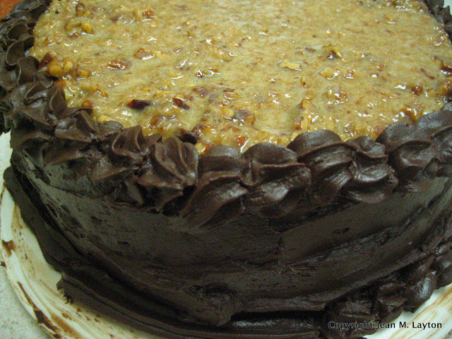 German Chocolate Cake - Gluten Free from www.DrJeanLayton.com