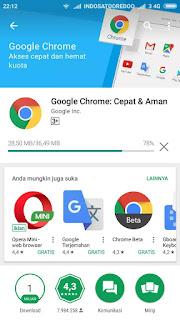 Cara Browsing Tanpa Koneksi Internet di Google Chrome Android