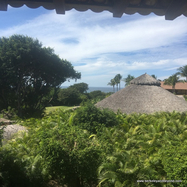 view from guest room at Four Seasons Resort Punta Mita in Mexico