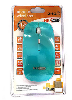 mouse wireless ingrosso maxexcell napoli