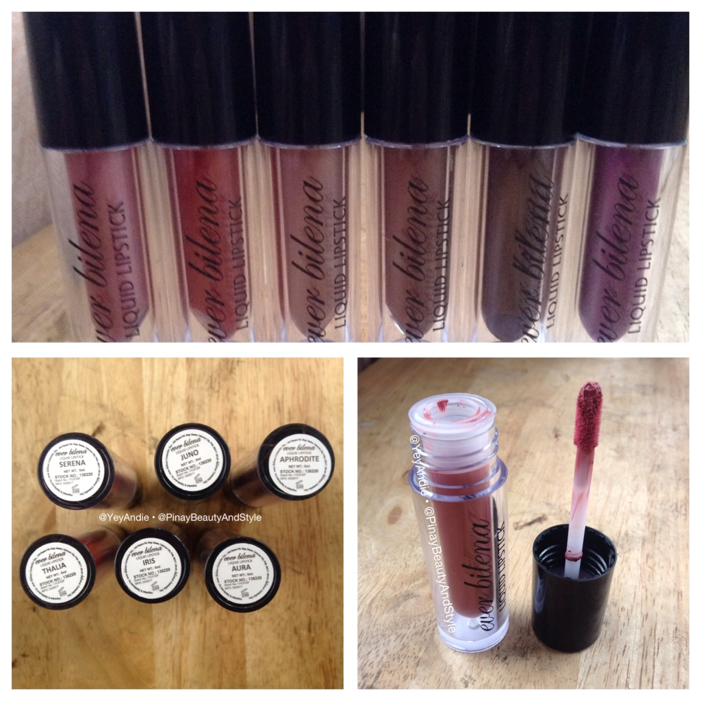 Pinay Beauty And Style Eb Liquid Lipstick Limited Edition Review