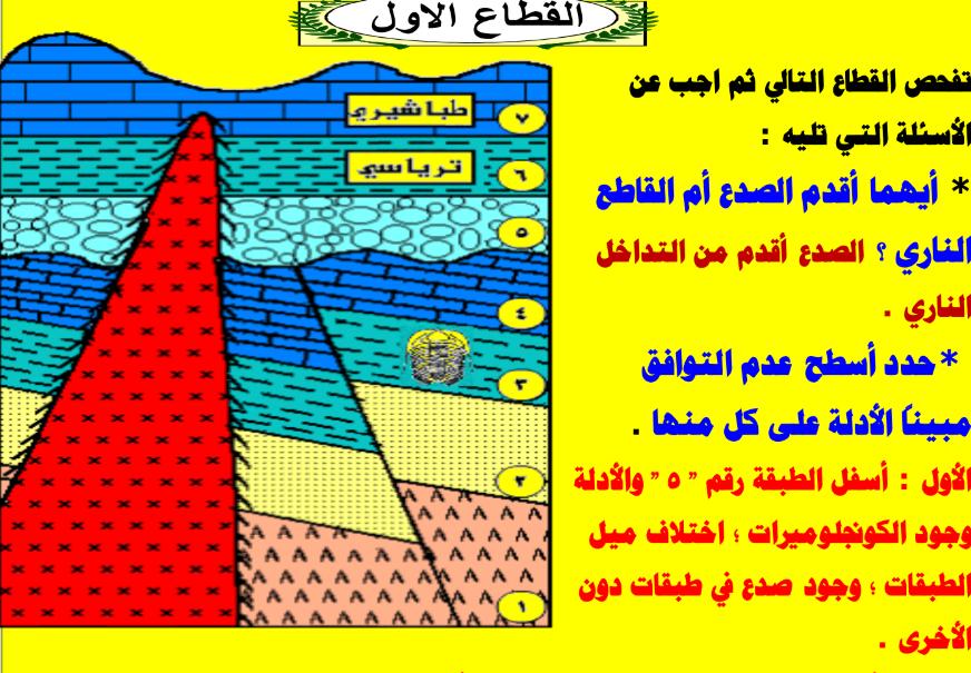 تحميل مراجعة المبدع الاسئلة المتوقعة لـ قطاعات ورسومات الجيولوجيا لشهادة الثانوية العامة Screenshot_5