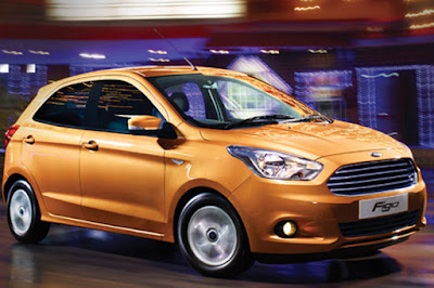 New Ford Figo 2016 hatchback car hd image