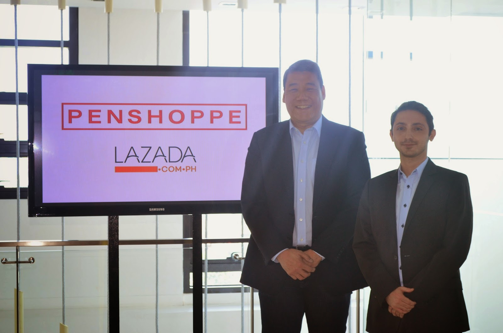 """a88ddafc6 Press Release: Penshoppe steps into online retail with Lazada Philippines. """""""