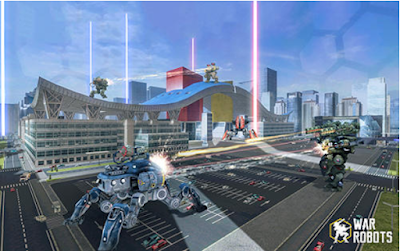 Mirror War Robots Apk Data