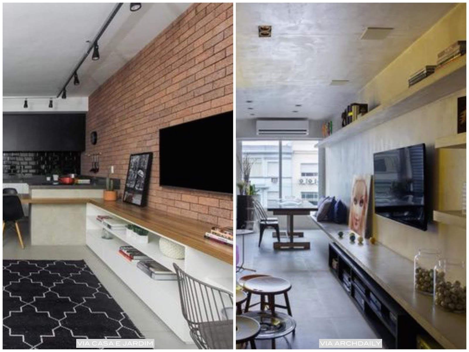 Arquivos Sala De Estar Living P Gina 2 De 3 Casa Pensada -> Decoracao De Sala De Estar Pequena E Barata