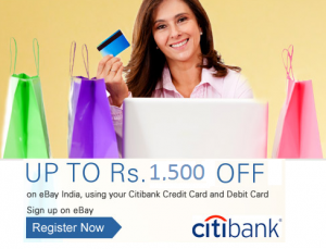 CITIEBAY15, Ebay Coupon for Citibank Cards
