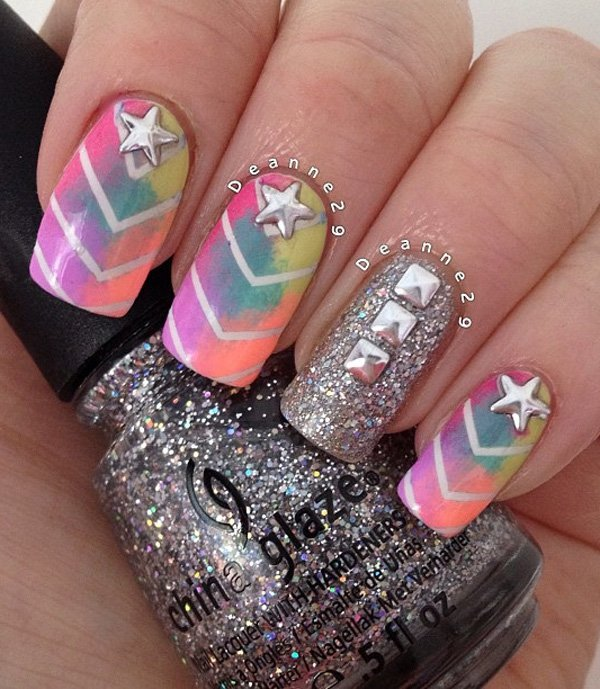40+ Amazing Ocean Nail Art Ideas