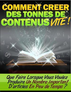 Comment Créer Des Tonnes De Contenus VITE !