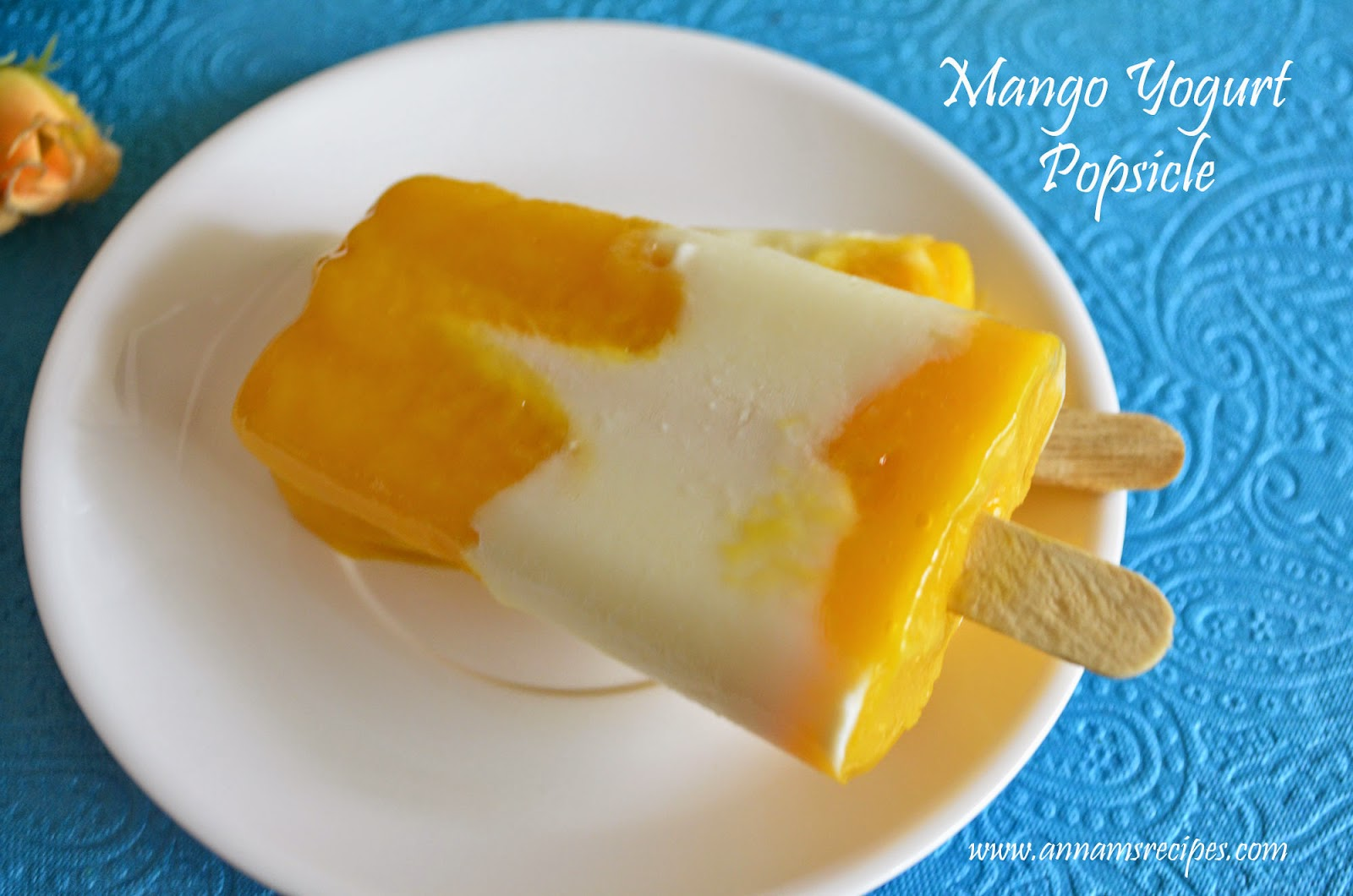 Mango Yogurt Popsicle