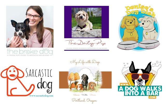 Blogger logos for Hounds, Holidays, & Hot Buys #houndsandholidays