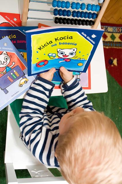 książki dla dwulatka propozycje Kicia Kocia