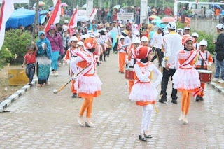 Meski Diguyur Hujan, Karnaval HUT RI Di Aceh Utara Tetap Meriah