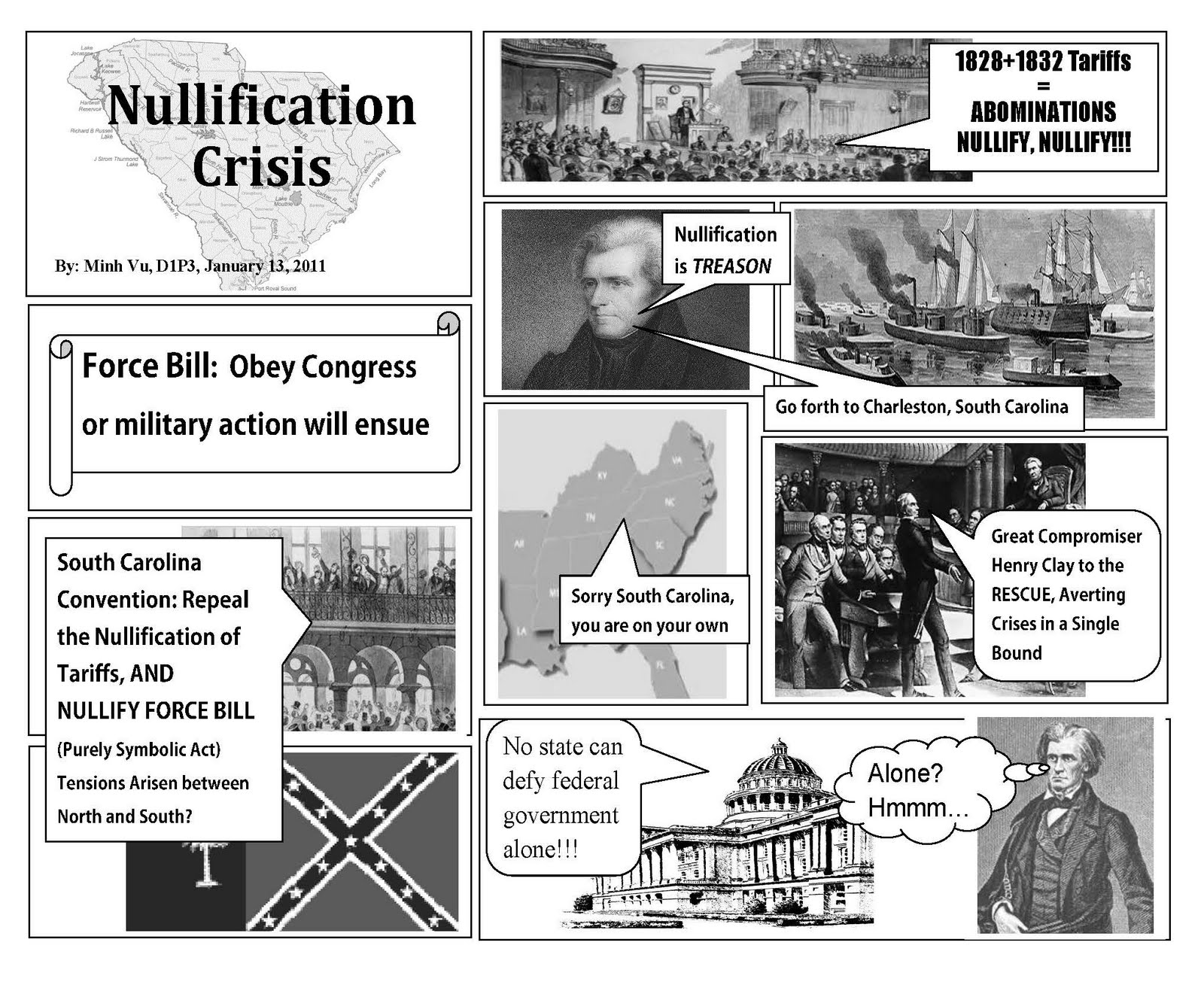 Minh S Hw Blog Nullification Crisis Comic