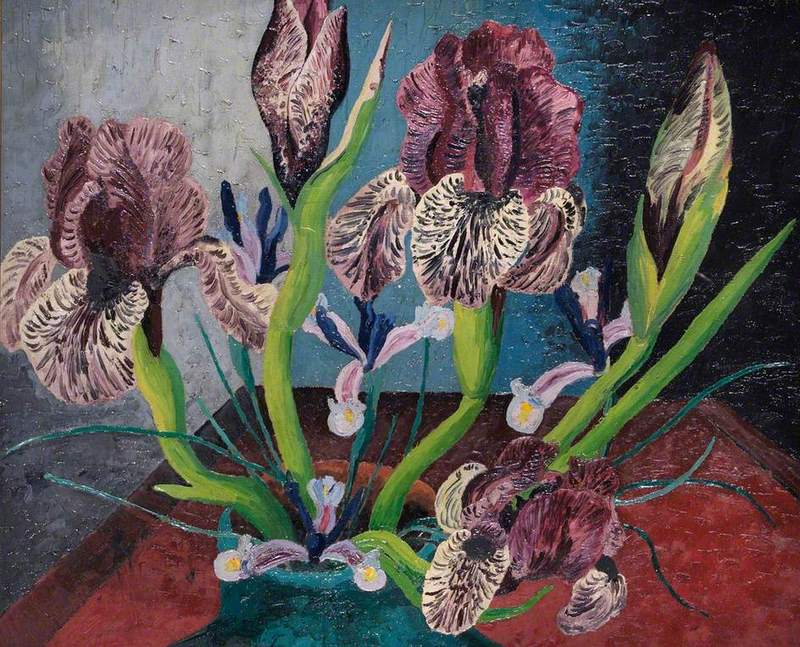 Mottled Iris, Cedric Morris