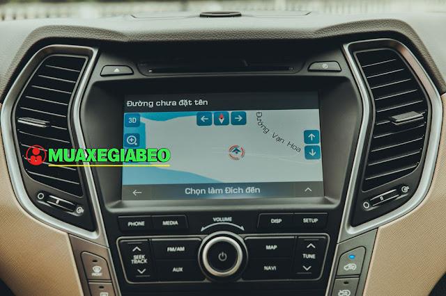 Giới thiệu Hyundai SantaFe 2.4L máy xăng phiên bản đặc biệt AWD ảnh 13