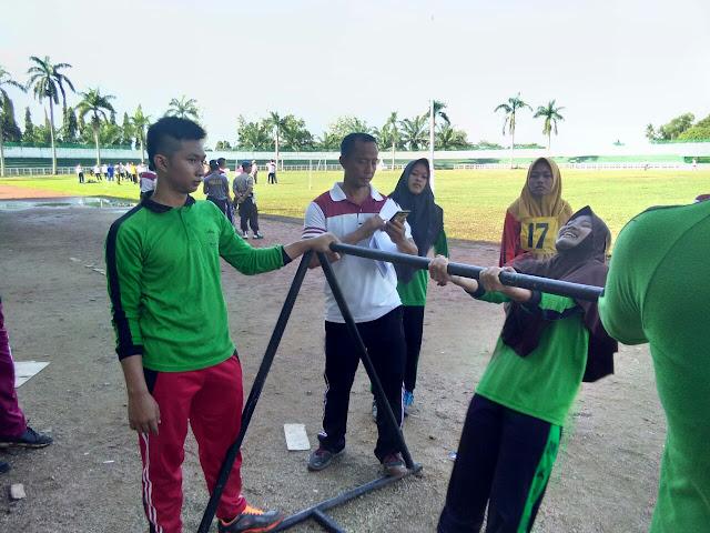 Polres Lampung Utara Beri Pelatihan Kepada Pelajar Pesantren