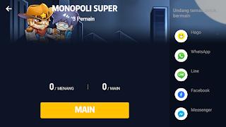 Cara bermain monopoli super di hago agar menang terus