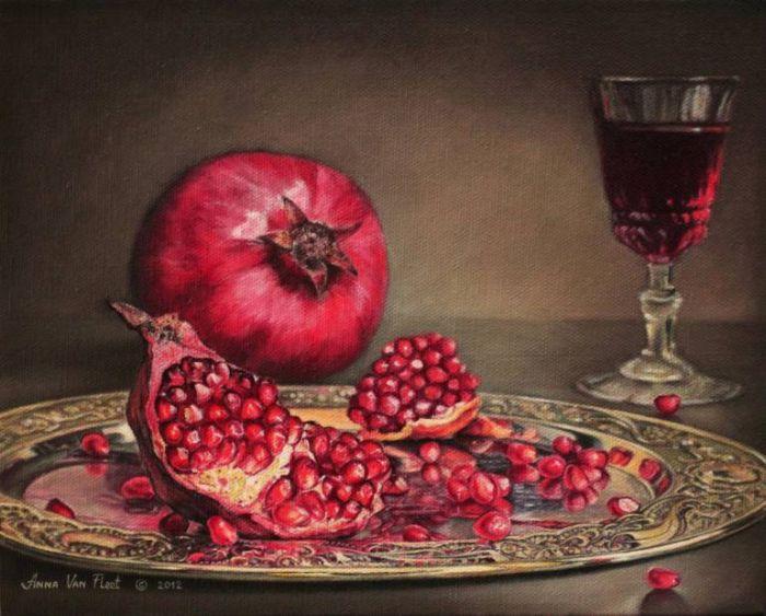 Живопись маслом. Anna Van Fleet